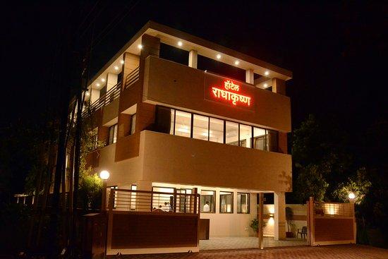Hotel Radhakrishna Multi-Cuisine restaurant new premise. PLot no. P-32/1, MIDC, Satpur, Nashik.