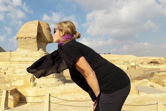 Giza pyramider og kairo museum tur fra...
