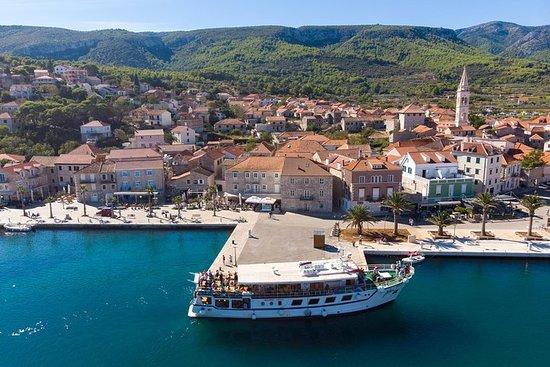 Desde la Riviera de Makarska: Tour en bote en dos islas con picnic de...