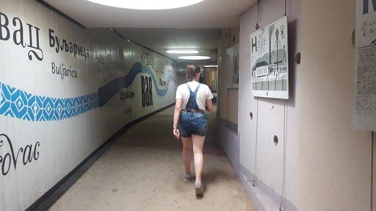 Тоннель внутри