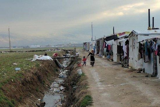 Flüchtlingslager Besuch Libanon
