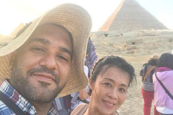 Visite privée de 8 heures Pyramides...