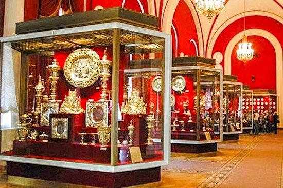 モスクワ、クレムリンの武器庫博物館への入場チケット