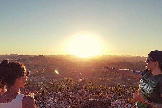 Safari en Jeep au coucher du soleil...