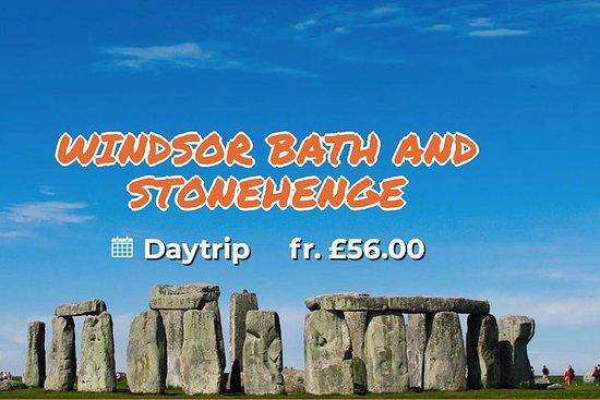 Windsor, Bath og Stonehenge