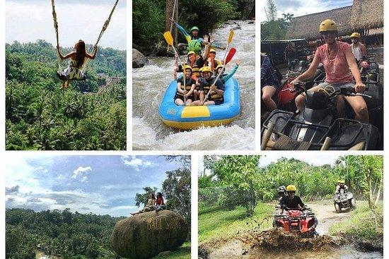 Bali Swing, Wildwasser Rafting und...