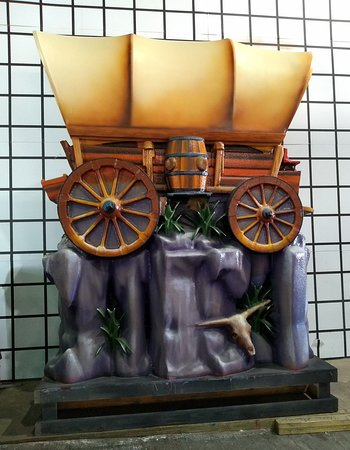 New Orleans Mardi Gras World Behind-the-Scenes Tour: Stage Wagon