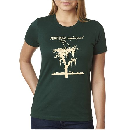 Heron T-Shirt Green (Women) - Someplace Special Collection