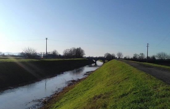 """Province of Parma, Italië: I canali della """"bassa"""""""