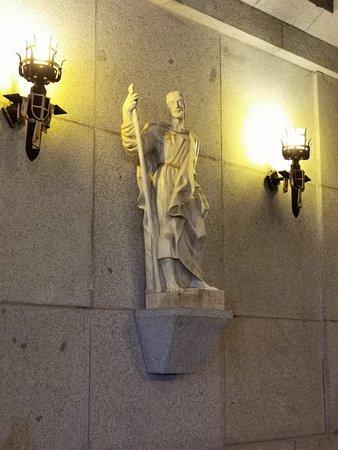 Interior del Valle de los Caídos.