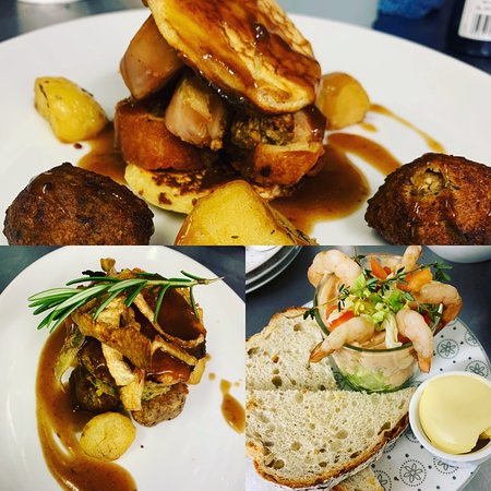 Taff's Well, UK: A few photos from our Sunday Lunch this week