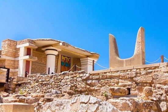 史詩般的克諾索斯宮殿與博物館及葡萄酒品嚐-哈尼亞私人之旅
