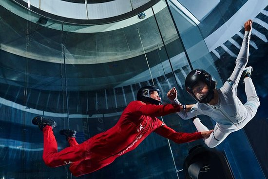 Oceanside Indoor Skydiving Experience with 2 Flights & Personalized...