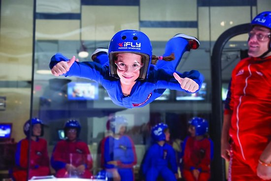 Westchester Indoor Skydiving Admission with 2 Flights & Personalized...
