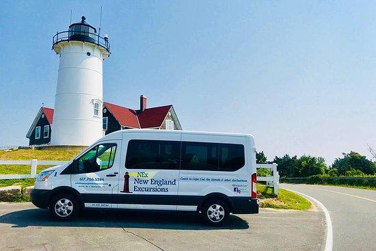 Marthas Vineyard-dagstur med valgfri øy-tur fra Boston