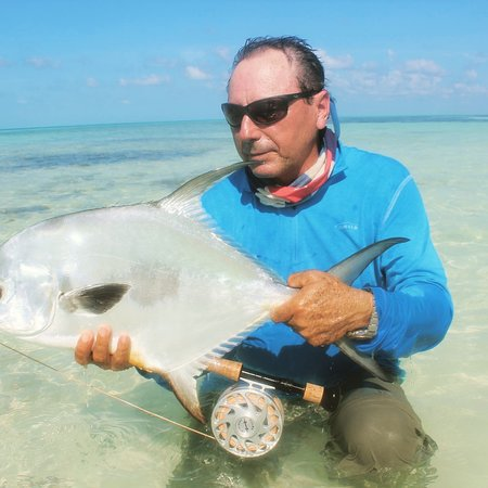 Playa Larga, Cuba: FLYFISHING on the flat cuba