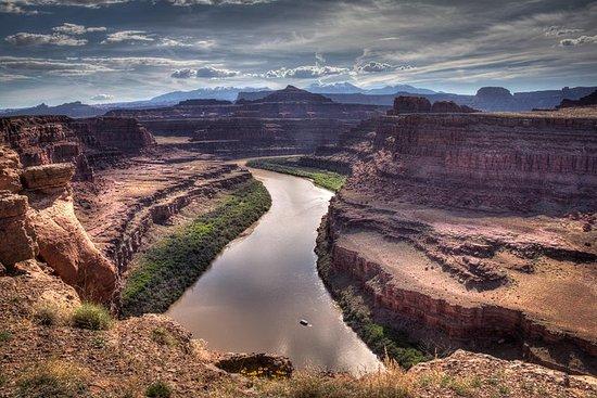 Moab combiné: le fleuve Colorado en...