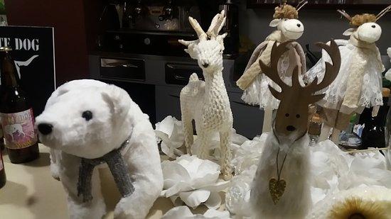 Angolo polare con animali tipici