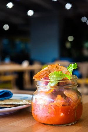 Pickled Shrimp; Florida spices, fruits & citrus