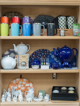 Offering a wide selection of teaware for loose leaf tea.