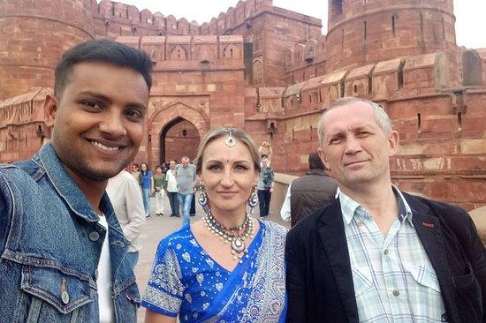 Excursion d'une journée à Agra