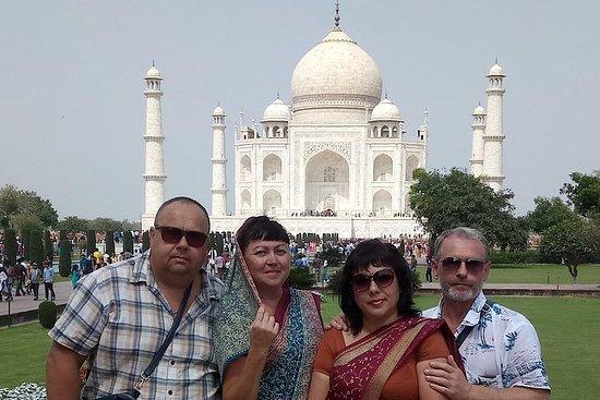 Tour du lever du soleil au Taj Mahal