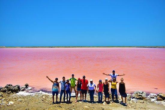 Schlamm-Vulkan, Pink Sea und...