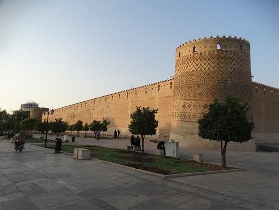 vista externa da cidadela