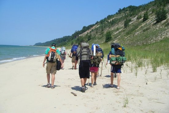 Trekking the Sleeping Bear National Lakeshore nel Michigan