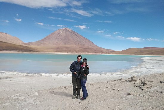 3 Days Tour Uyuni Salt Flats ending...