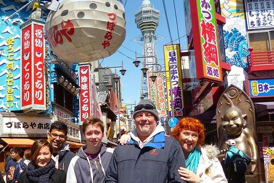 Recorrido a pie en Osaka