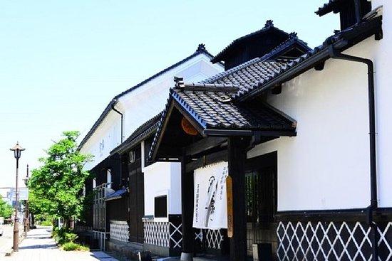 En guidet tur rundt Saijo Sake Brewery Street i Higashi Hiroshima