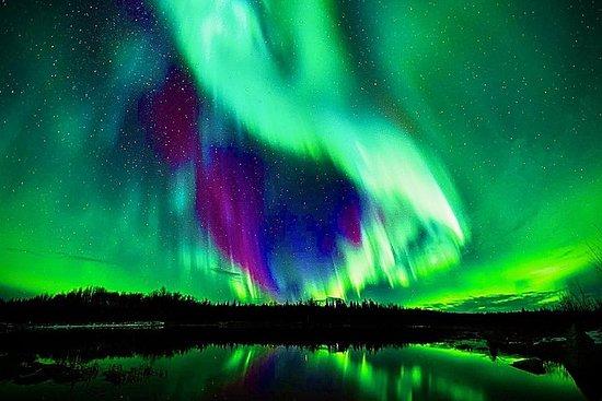 Hot Springs Aurora Viewing Dream – fotografia