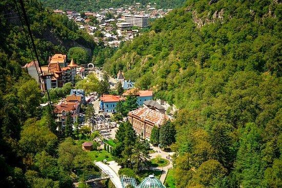 Viagem de um dia a Uplistsikhe e Borjomi