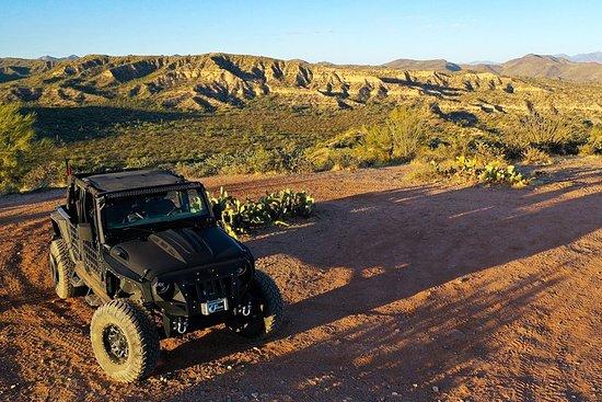 Sunset Sonoran Desert Jeep Tour