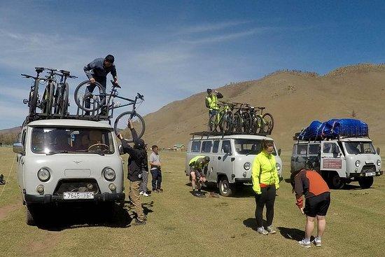 2 Tage Radtour um Tereji und Provinz...