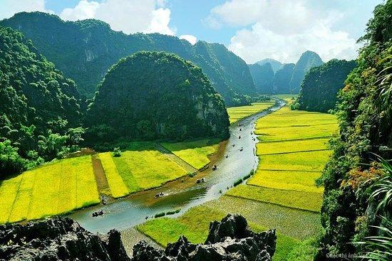 Hoa Lu - grotte de Mua - Tam Coc...