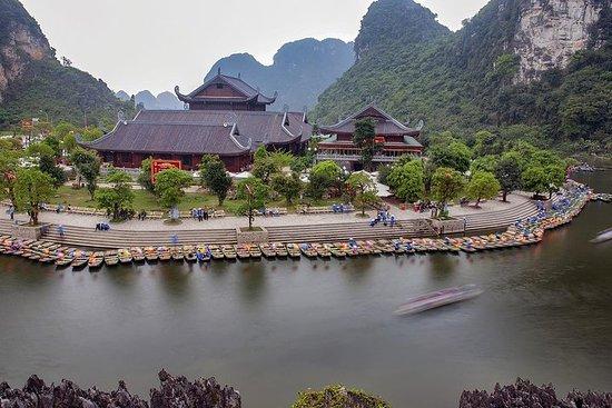 Pagode Bai Dinh - Trang Um Dia Inteiro...