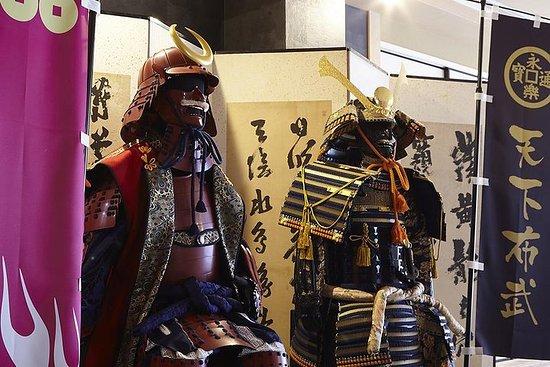 ガイド付きツアー、侍と忍者を体験、侍ショー