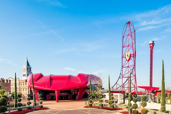 PortAventura Park and Ferrari Land...