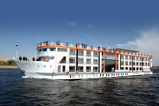 Book Zeina Nile cruis 5 days 4 nights from Luxor to Aswan included...