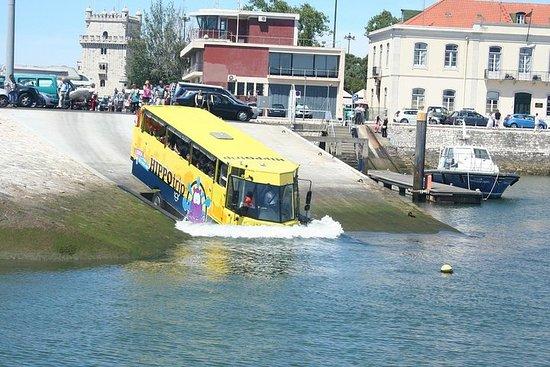 リスボンの水陸両用観光ツアー90分