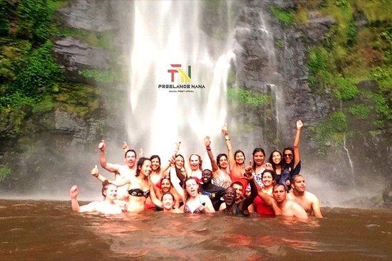 Entdecken Sie die Wli-Wasserfälle...