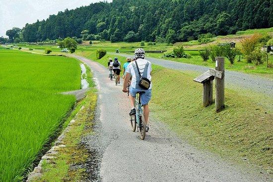 産地直送の郷土料理とサイクリング・ツアー:琵琶湖と棚田