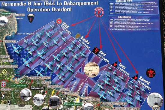 D-Day Normandy Landing Beaches Privat...