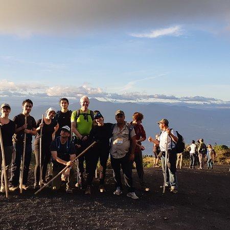 Escuintla Department, Guatemala : Volcan pacaya