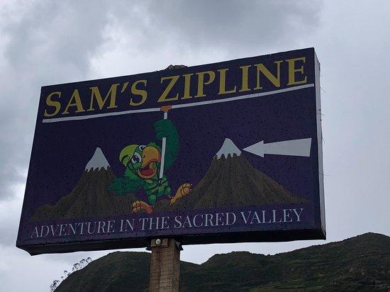 Sam's Zip Line in Sacred Valley: Thank you Sam's Zipline!
