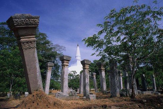 Faire du vélo à Anuradhapura Scared...