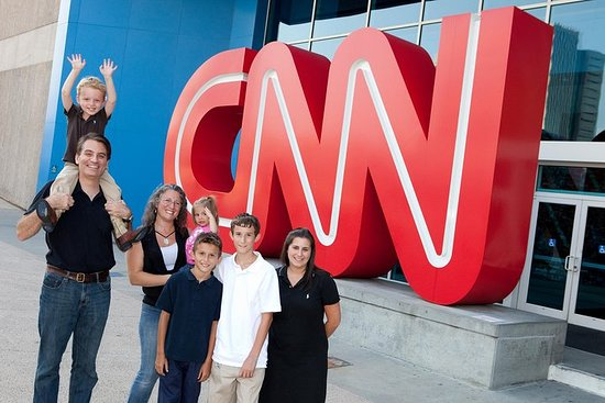 CNN Atlanta Studio Tour