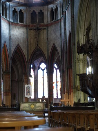 View of the choir